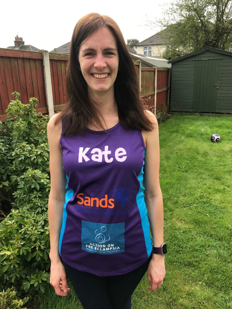 kate, london marathon, sands
