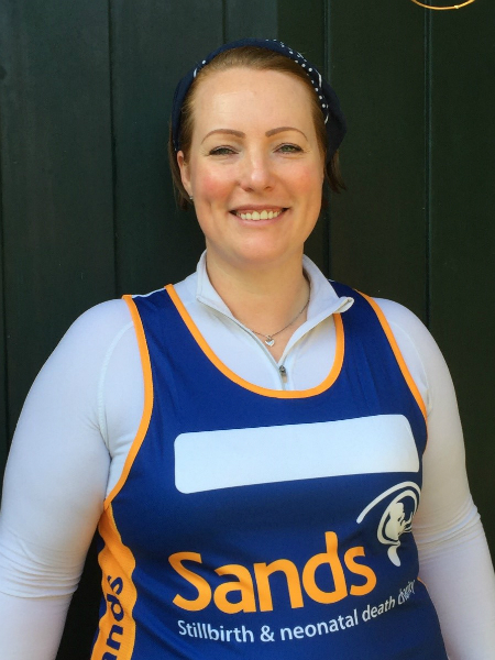 Sarah Burns, Sands, London Marathon, fundraising, stillbirth, stillborn