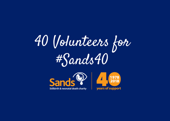 40 volunteers, sands