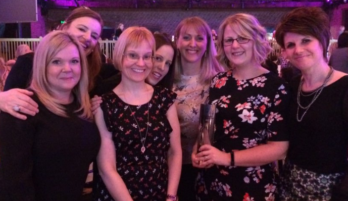 rcm, sands award, bereavement care, clare beesley