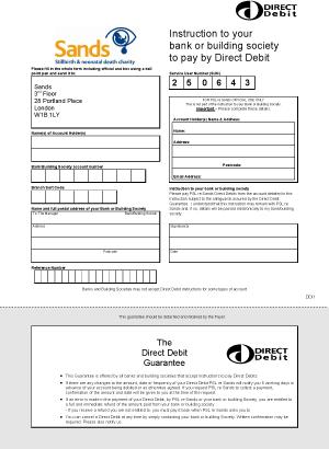 inspirational direct debit form business rates direct debit mandate - Direct Debit Form