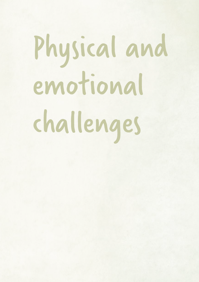 Sands - Physical and emotional challenges