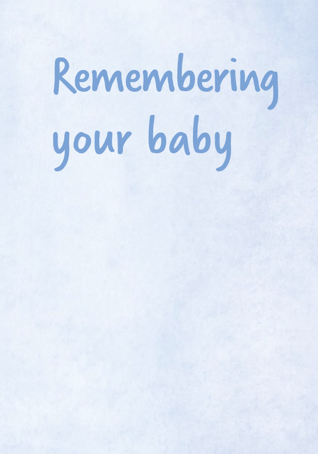 Sands - Remembering your baby