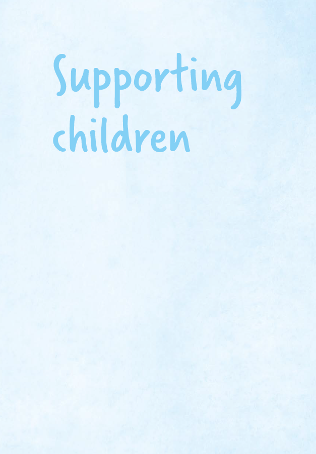Sands - Supporting children