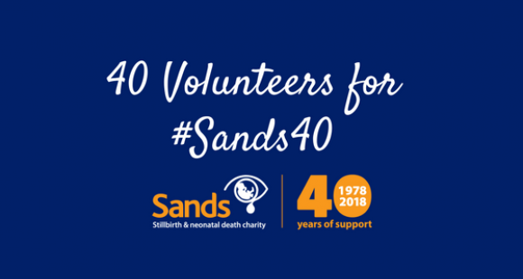 40 volunteers for #Sands40