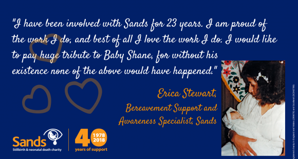 "#Sands40: ""Dear Baby Shane"" by Erica Stewart"
