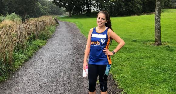 Rebecca Weir is running the Great North Run