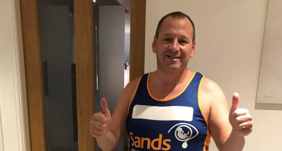 Stephen is running the Great North Run