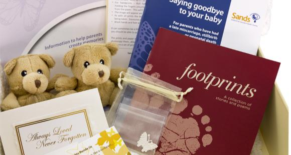 Sands Memory Boxes now free to all   Sands - Stillbirth and neonatal death charity