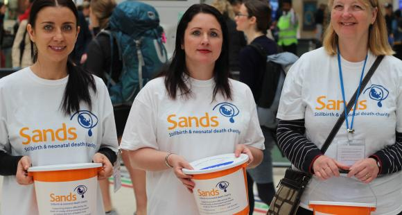 Donate to Sands to support bereaved parents after stillbirth, neonatal death