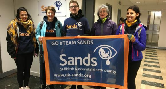 #challenge15, Mike Garside, Sands, charity