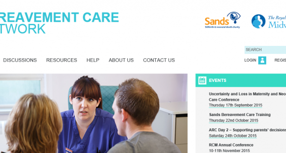 Bereavement Care Network, BCN, Sands, Stillbirth, RCM, Royal college of midwives, professionals, health professionals, NHS, bereavement care, midwives, midwifery, baby, neonatal, death, stillborn