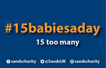#15babiesaday, business card, sands awareness month, 15 babies