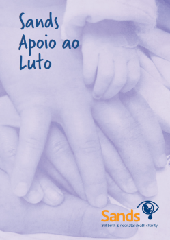 Sands bereavement support book in Portuguese