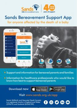Bereavement Support App Poster