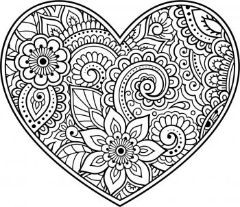 Sands Garden Day colouring sheet