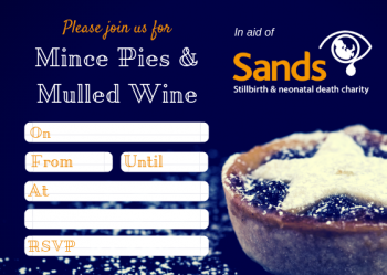 Christmas - Mince Pies and Mulled Wine Invite