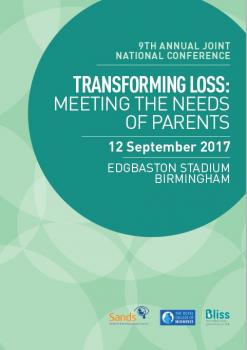 Transforming Loss: Meeting the needs of parents programme, Sands, Bliss, RCM, Midwives, training, networking, event, birmingham