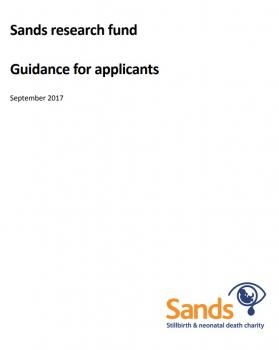 Sands, research fund, guide, applications, funding, study, project, research