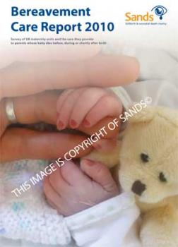 The Sands Bereavement Care Report, stillbirth, neonatal death