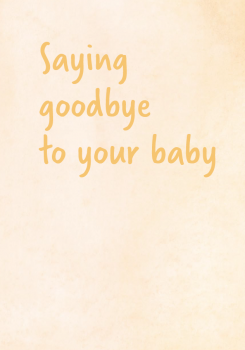 Sands - Saying goodbye to your baby