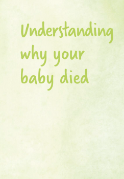 Sands - Understanding why your baby died