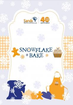 Snowflake Bake fundraising pack download