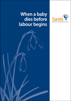 When a baby dies before labour begins, stillbirth, miscarriage, birth, Sands, baby death