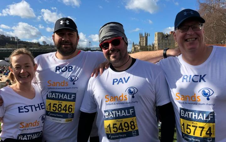 Bath Half runners