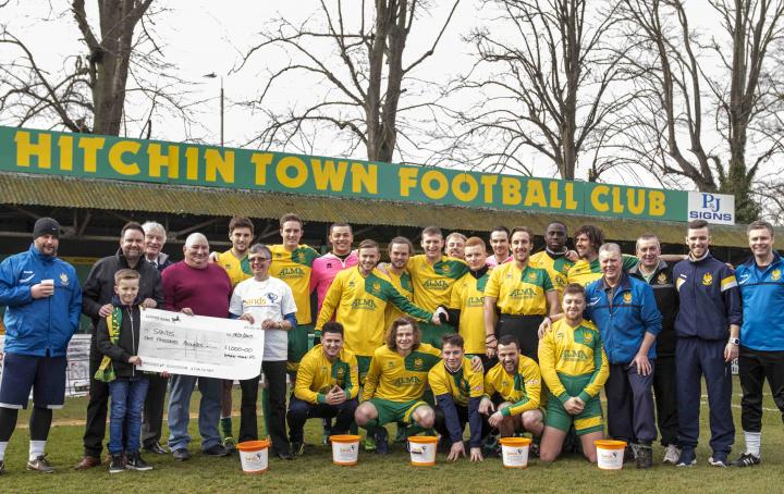 Hitchin Town fundraising