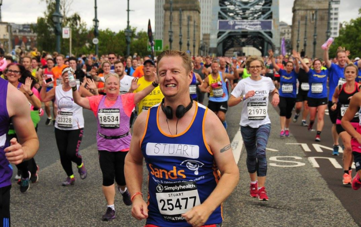 Great North Run Sands