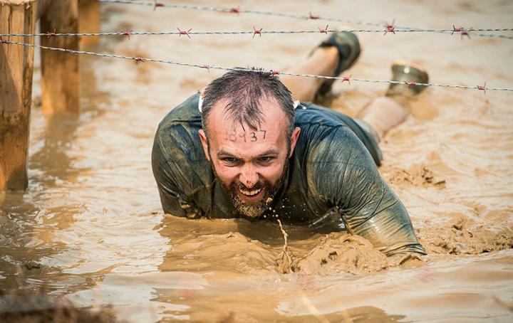 Tough Mudder Half London West. Sands