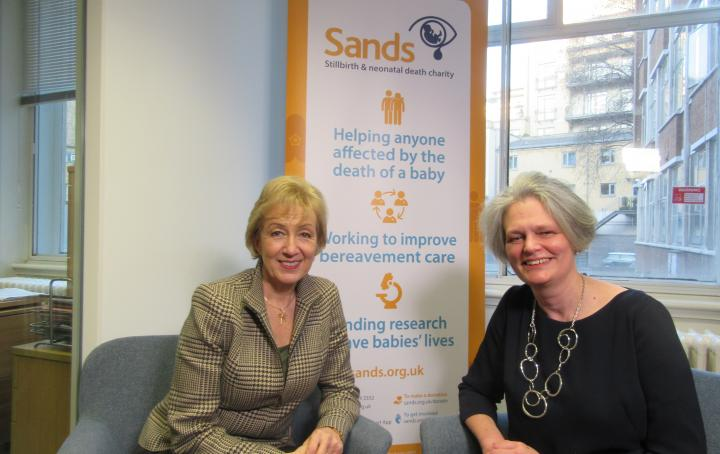 Andrea Leadsom MP meets Clea Harmer