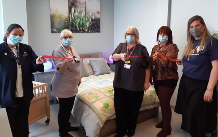 Opening of Bereavement Suite at Conquest Hospital in Hastings