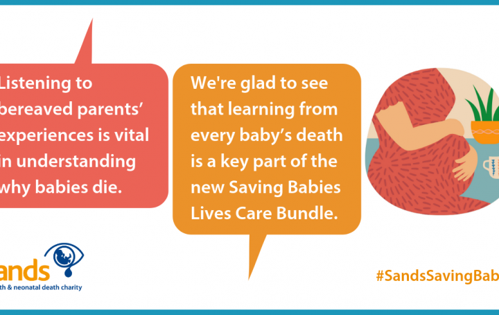 Sands welcomes Saving Babies' Lives Care Bundle